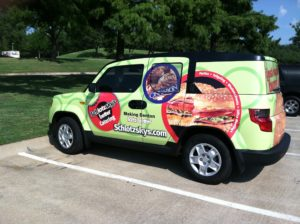 Vehicle wraps are available in a number of locations across DFW