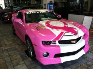 Custom vehicle wraps can display a number of messages.