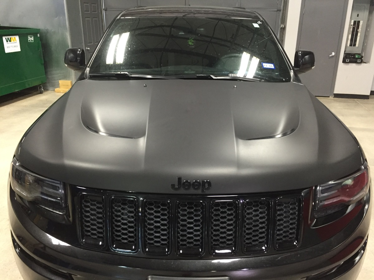 Matte and Satin car wraps can even change the entire color of your vehicle!
