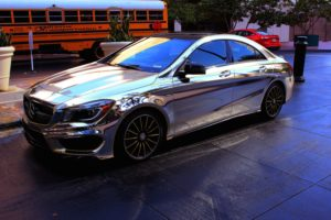 Chrome & metallic wraps offer a touch of style and elegance at lower cost.