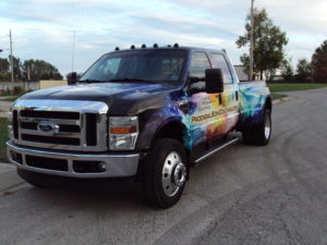 Vehicle wraps are available to customers in Arlington, TX