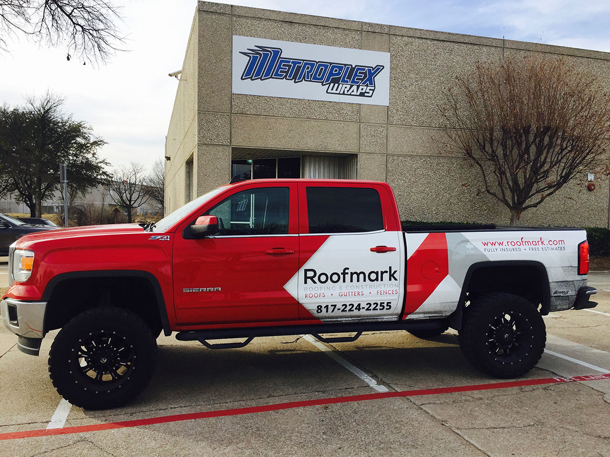 Roofmark Commercial Truck Wrap 3